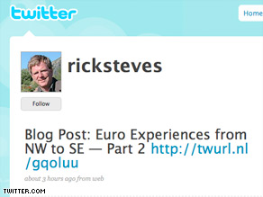 Microblogging on sites like Twiter could enlighten and empower travelers.