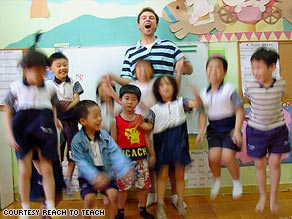 The organization Reach to Teach has seen a 100 percent increase in applications to teach English in Asia.