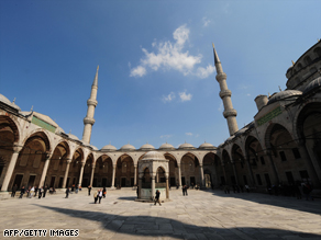 Americans traveling to sites around the world like the Blue Mosque in Istanbul should be respectful.