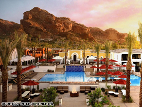 The InterContinental Montelucia Resort & Spa is subtly scaling back amid a sagging economy.