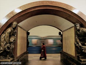Moscow's Metro system is a tourist attraction in its own right.
