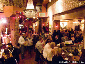 The perpetually packed Beehive in Boston is known for its Beehive julep and champagne cocktails.