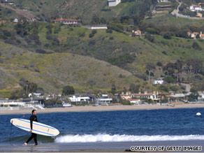 Laguna Beach in Orange County, California, is one of the NRDC's five-star beaches for water quality.