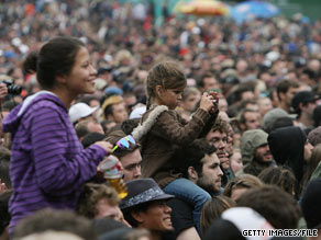 Fans take in the sights and sounds at last year's San Francisco's Outside Lands Music and Arts Festival