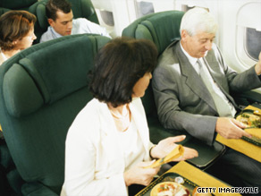 The lowdown on airline food