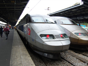 Europe's high-speed rail is so successful that one airline is considering getting into the business.