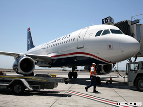 US Airways says the problems are in the past. United notes it self-reported its problem.