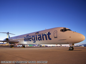 Upstart airline Allegiant Air provides service to about 70 airports.
