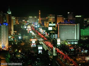 About 37.5 million people visited Las Vegas in 2008, down 4.5 percent from the year before.