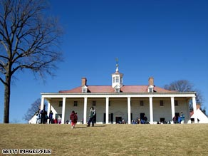 Visitors can tour the mansion and examine slave cabins at Andrew Jackson's Hermitage.