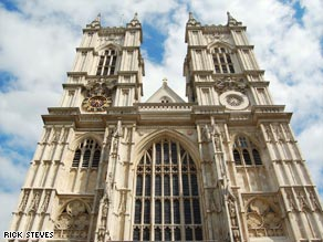 At London's Westminster Abbey, the excellent audio guide nearly makes up for the $18 admission fee.