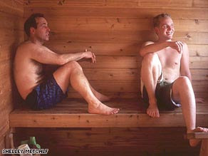 Finland's love of saunas has taken root along the shores of Lake Superior.