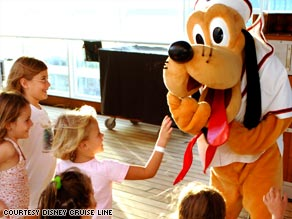 Everyone gets into the act on a Disney Cruise.