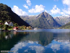 On the Sognefjord, Norway shows off its natural beauty.