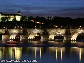 Prague's Charles Bridge is one of the city's most visited landmarks.