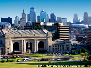 Interactive museum Science City is located in Kansas City's Union Station.