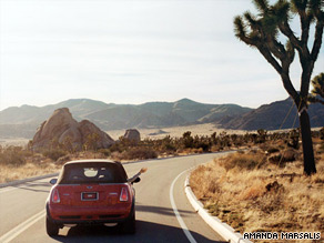 Joshua Tree National Park, located 140 miles from Los Angeles, stretches across 800,000 acres.