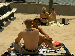 Three sandy stretches in New York have welcomed day-trippers this summer.