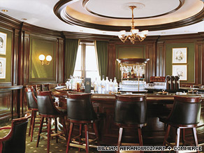 The Round Robin Bar at the Willard InterContinental is a great place to eavesdrop.