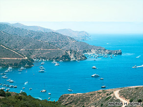 Two Harbors hides out on the quiet side of Catalina Island, California.