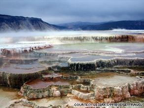 Yellowstone National Park preserves an enormous natural bounty, including 10,000 hot springs and 300 geysers.