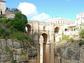 Ronda's famous bullring is among Spain's best.