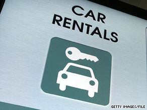 Car rental firms are hemorrhaging money faster than oil leaking from a cracked gasket.