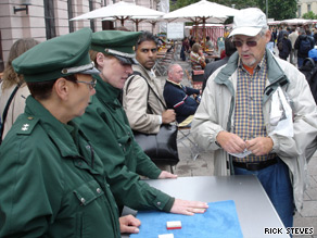 In Berlin, the police teach the public the latest shell-game scam.