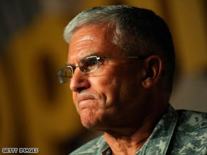 Army Chief of Staff Gen. George W. Casey Jr. is sending a personal letter to the families who received the letter.