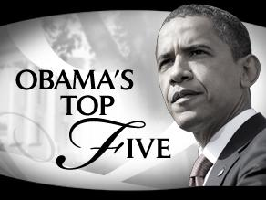 Obama's Top Five