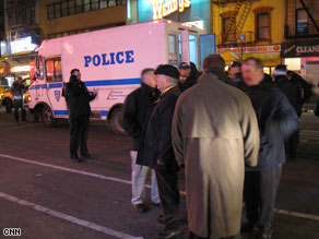 Seven police officers were injured Sunday in New York City during a pro-Palestinian rally.