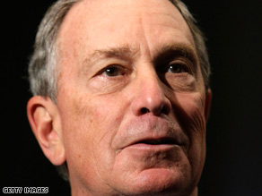 New York City Mayor Michael Bloomberg plans to order layoffs of city employees.