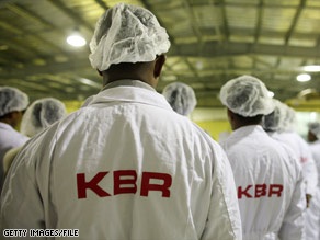 KBR was spun off from its former parent corporation Halliburton in 2007.
