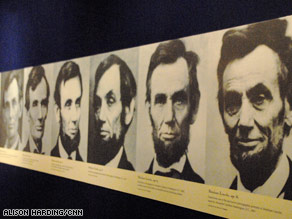 """Abraham Lincoln: An Extraordinary Life"" will be on display through January 2011."