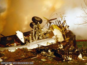 Continental Airlines Flight 3407 crashed into a house in Clarence Center, New York, late Thursday.