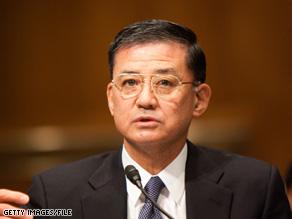 """When we detect a problem, ... we will quickly fix it,"" VA Secretary Eric Shinseki said."