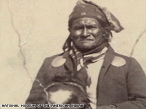 The warrior's great-grandson, Harlyn Geronimo, wants his ancestor to receive a proper burial.