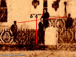 The photo of the 16th president could be one of the last taken of him, according to Lincoln scholar Keya Morgan.