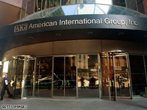 AIG has agreed to restructure bonus payments to its employees.