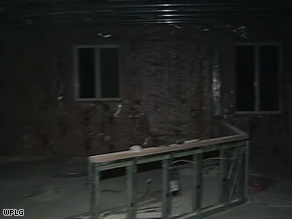 This house in Homestead, Florida, was gutted after allegedly defective Chinese-made drywall was found there.