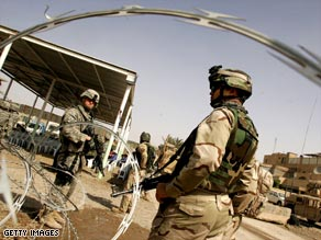 Long troop deployments in Iraq, above, and Afghanistan have been cited in the rise in military suicides.