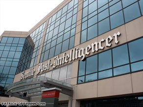 Copies of the last print edition of the Seattle Post-Intelligencer rolled off the presses on March 16.