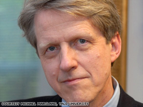 Robert Shiller says basic psychogical factors led to excesses which have devastated the economy.
