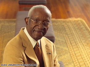 John Hope Franklin, a revered historian and scholar on issues of race and the South, has died.