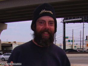 The Web site has resulted in more than $50,000 in donations. He's also undergone drug rehab.