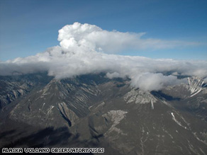 A series of eruptions has been rattling Alaska's Mount Redoubt volcano since Sunday.