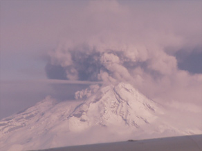 Ash from Alaska's Mount Redoubt volcano has been affecting airport operations.