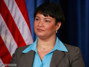 EPA Administrator Lisa Jackson, in a December photo, announced a plan to monitor the air around 62 schools.