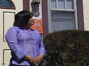 Lisa Brown has to move out of her rental house because it fell into foreclosure and was sold at auction.