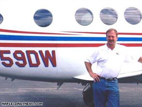 Passanger Doug White landed this Super King two-engine turboprop after the pilot fell unconscious.